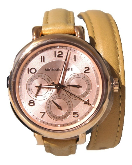 Reloj Michael Kors Golden Rose Mod. Mk2406 Con Extensible De