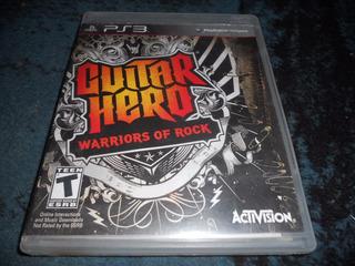 Guitar Hero Warriors Of Rock Playstation 3 Pertinax Store