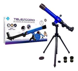 El Duende Azul Telescopio 20x 30x 40x Rre 6256 La Torre