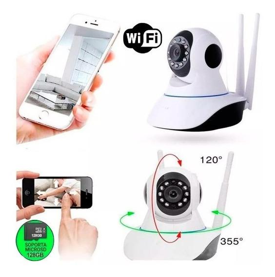 Camara Wifi P2p Hd 720p Audio Motorizada Vigilancia Nocturna