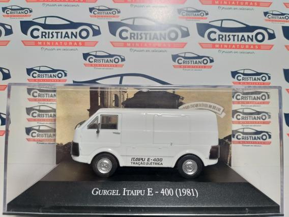 Gurgel Itaipu E-400 1981 Ed 124 Carros Inesquecíveis Br 1/43