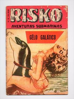 Hq Risko Aventuras Submarinas Nº 53 - Anos 60 Ediex