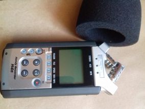 Gravador Zoom H4n + Microfone Yoga Ht-81 7.5m De Cabo