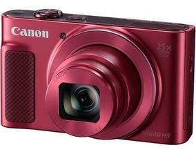 Câmera Canon Powershot Sx620 Hs Vermelha Sx620hs 12x S/juros