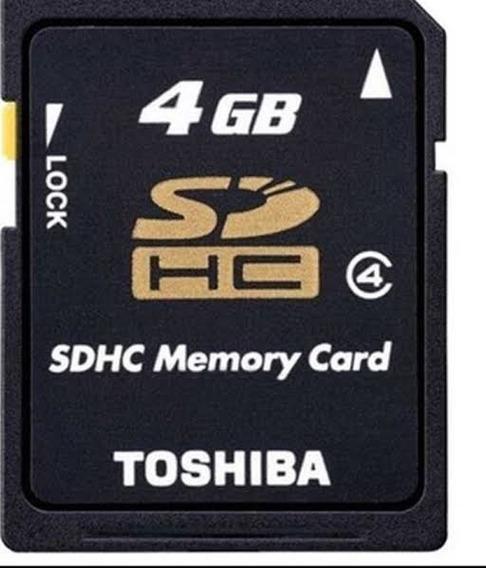 Cartao Sd 4 Gb - Toshiba Original -