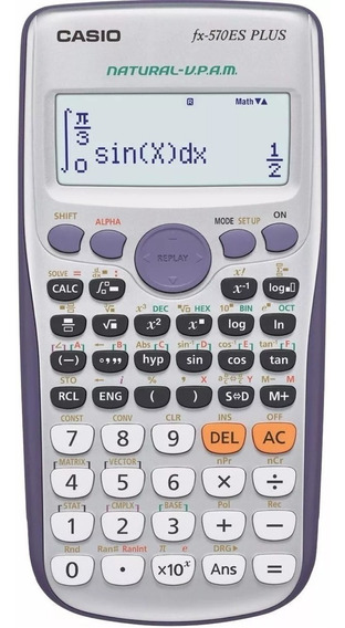 Calculadora Casio Fx-570es Plus Zona Tribunales, Obelisco.
