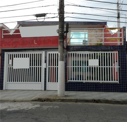 Imagem 1 de 8 de Sobrado À Venda, 3 Quartos, 1 Vaga, Vila Leopoldina - Santo André/sp - 21344
