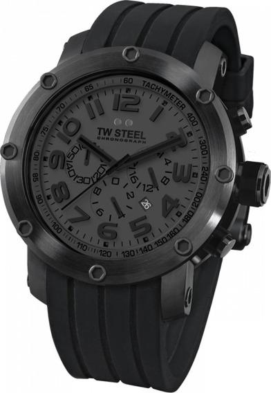 Tw Steel Grandeur Tech Negro Tw128, Garantia, Slicon