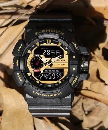 Smael 1436 Relógio Esporte Homens Relógios À Prova D