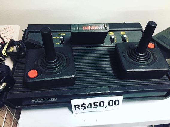 Vídeo Game Atari 2600 2 Controles Leia Anuncio.