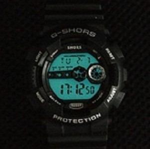 Relógio Importado Grande Diâmetro De 4,8 Cm Esporte Shors