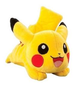 Pelúcia Pokémon Pikachu De Ombro Com Som - Original Tomy