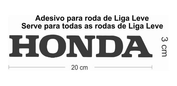 Kit Adesivos Honda Para Rodas De Moto Liga Leve