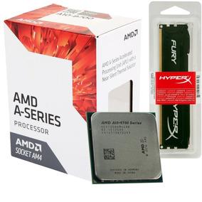 Kit Amd A10-9700 + Memoria Hyperx Ddr4 4gb