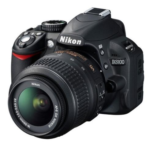 Câmera Profissional Nikon D3100 Dslr Usada Perfeito Estado