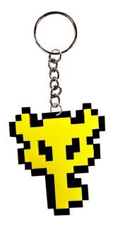 Llavero Acrilico Nintendo Boss Key Pixel Zelda
