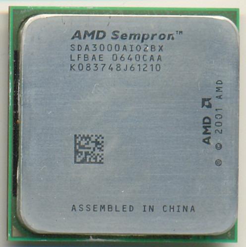 Processador Amd Sempron 1.8ghz/256mb Skt 754. Envio T.brasil
