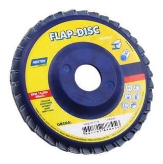 Disco Flap Milhoja 8500 Rpm 180 X 22 Mm Grano 120 Norton
