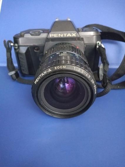 Câmera Fotográfica Pentax Com Lente Para Retirada De Peças