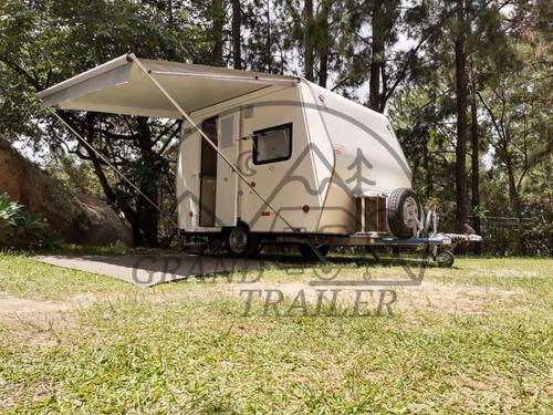 Trailer Gt Home 3.3 - Lançamento - Acomoda 4 Pessoas - 0 Km