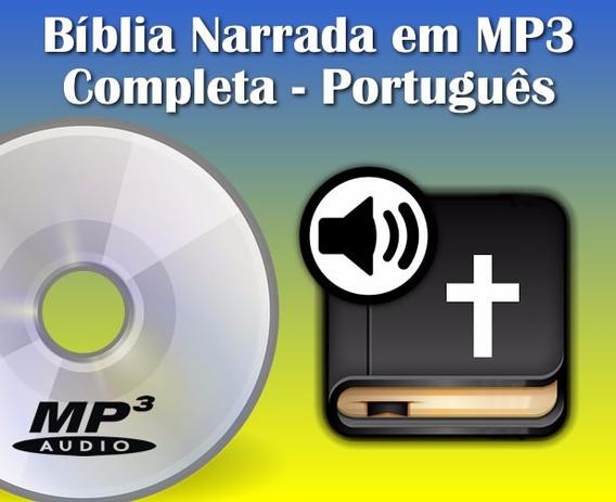 Bíblia Narrada Em Áudio Mp3, Português, Completa