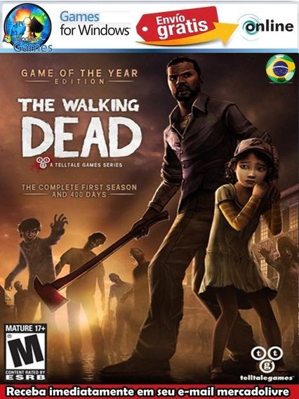 The Walking Dead The Final Season Pt-br Pc Digital