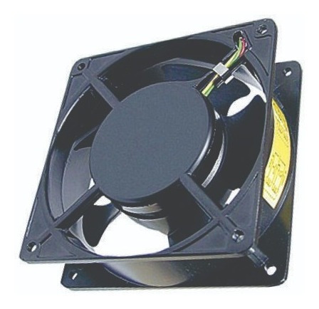 Kit C/5 Micro Ventilador Cooler 120x120x38 110/220v Bivolt