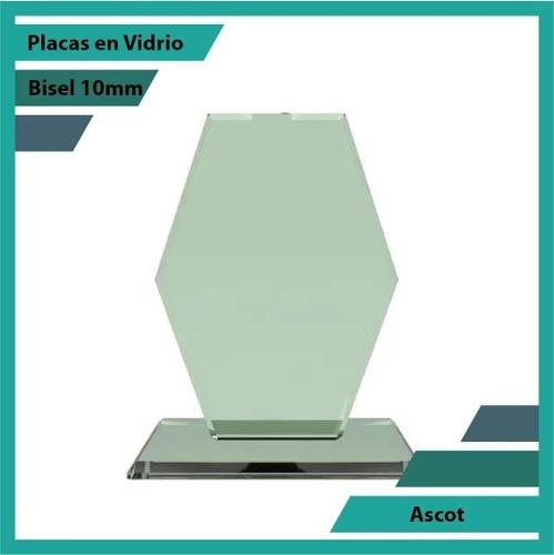 Placas En Vidrio Forma Ascot