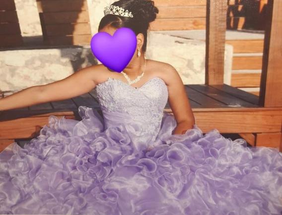 Vestido De Xv Años Color Lila