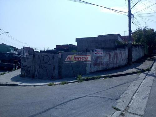 Terreno Comercial À Venda, Jardim Monte Carmelo, Guarulhos - Te0282. - Ai8160
