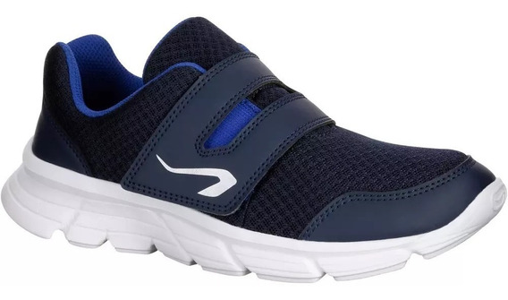 Zapatillas Atletismo Niños Azules Marino