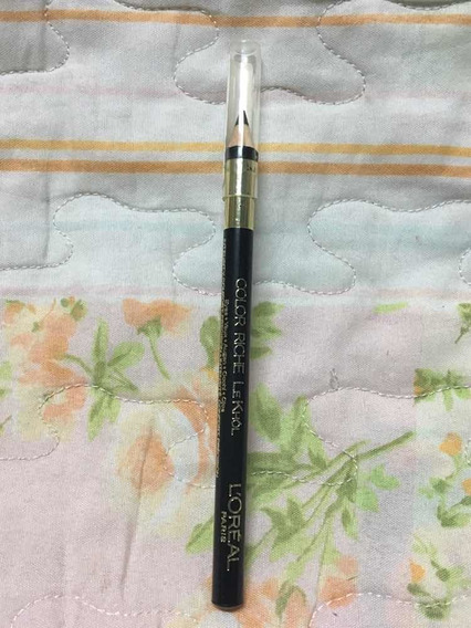 Lapis Para Olhos Color Riche Le Khol L Oréal Midnight Black