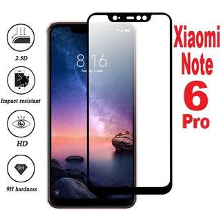 15x Atacado Película Vidro Temperado Xiaomi Redmi Note 6