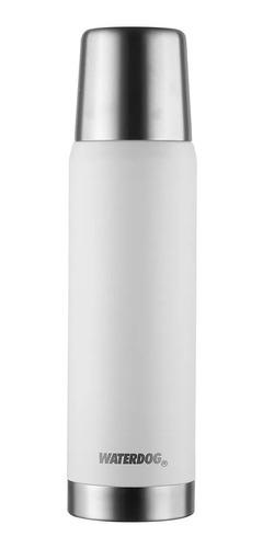Termo Waterdog Obus Acero Inoxidable 1000 Cc Blanco