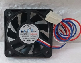3 Coolers Nework Rt-50 50x50x10mm 12v Rol 5500 Rpm 12.102h