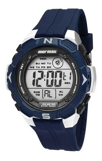 Relógio Mormaii Mo29088a Wave Marinho