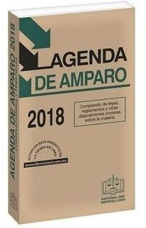 Libro Fisico Agenda De Amparo 2018 Isef