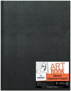 Sketchbook Cuaderno De Dibujo Pasta Dura 11 X 14 In.