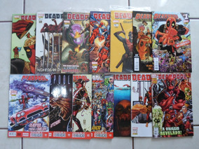 Lote Com 14 Gibis Diversos Do Deadpool Marvel Panini