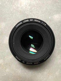 Lente Canon 50mm 1:1.4