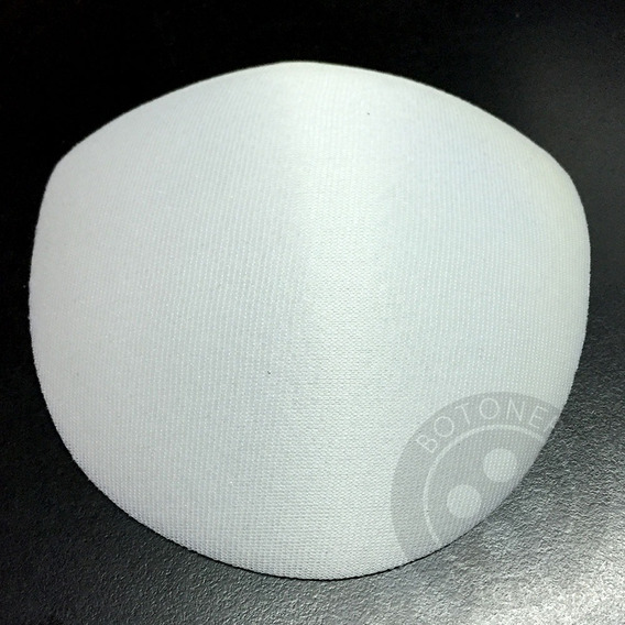 Taza Simple Soft Rellena De Goma Espuma, Blanca X 50 Pares
