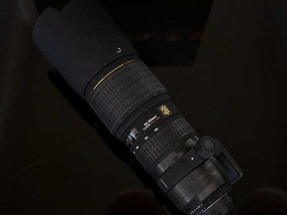 Lente Sigma 100-300 F4 Para Nikon Full Frame.
