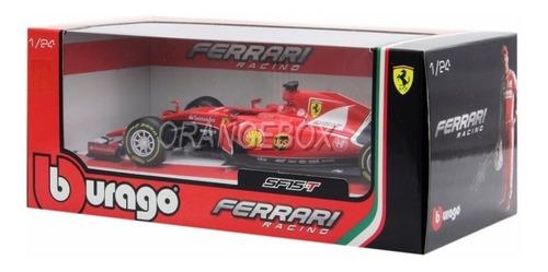 Fórmula 1 Ferrari Sf-15t Sebastian Vettel 2015 Burago 1:24