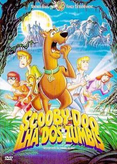 Dvd - Scooby-doo Na Ilha Dos Zumbis