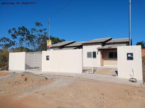 Casa Para Venda Em Cuiabá, Jardim Presidente, 2 Dormitórios, 1 Banheiro, 2 Vagas - 215_1-1307102
