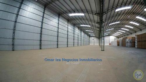 Iza Alquiler Local Industrial Seguridad Logistica Galpon