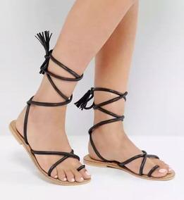 Sandalias Zapato De Cuero Zara Mng Basement