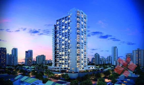 Apartamento Com 1 E 2 Quartos À Venda, 37 M² No Setor Jardim Goiás Em Goiânia - Ap0126