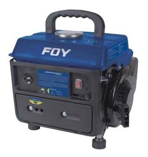 Generador 800 W 1 Hp Foy Planta De Luz Electrico Gg380