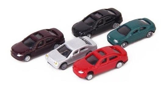 Lote De 4 Autos Para Maqueta Escala Ho 1:160